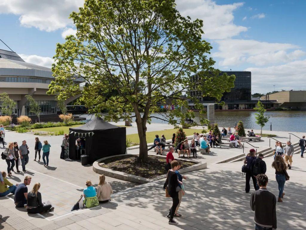 University of York campus